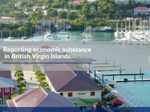 Reporting economic substance in British Virgin Islands
