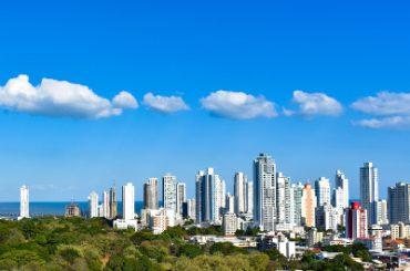 Panama City sky